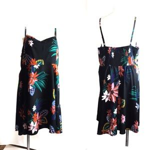 Old Navy Sz XXL Sundress Tropical Print